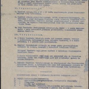 """Opracowanie pt. """"Organizacja [Komitetu Oby]watelskiego"""""""
