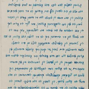 Listy Frajdy Sznuerson do rodziny