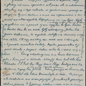 List Samuela Nelkena do Izydora Sereta w getcie warszawskim z prośbą o pomoc