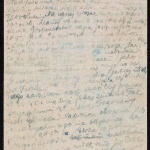 Listy z getta wiejskiego Pacht do rodziny Górnych w getcie warszawskim