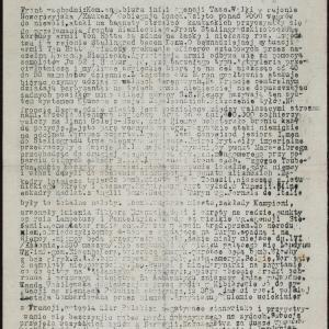 """Konspiracyjne pismo organizacji """"Żagiew"""""""