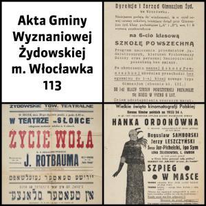 Akta Gminy Wyznaniowej Żydowskiej m. Włocławka
