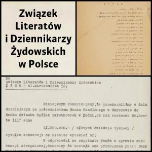 Związek Literatów i Dziennikarzy Żydowskich w Polsce