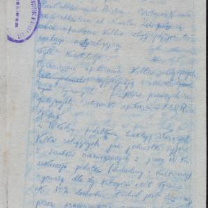 Opracowanie dotyczące stosunku sowieckich władz tzw. Zachodniej Białorusi do religii żydowskiej