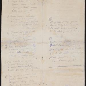 """Wiersz pt. """"Na marginesie pewnej szopki w roku Pańskim 1942 przy ul. Chłodnej 22"""""""
