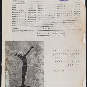 """""""Dror"""" (Wolność), konspiracyjne pismo młodzieżowej organizacji Hechaluc-Dror"""