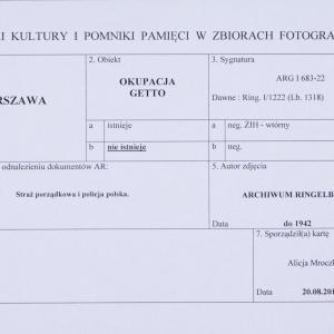 """Zdjęcie pt. """"Straż porządkowa i policja polska"""""""