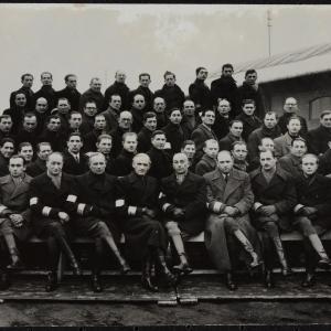 """Zdjęcie pt. """"Służba porządkowa w ghetcie warszawskim O.D. [Ordnungsdienst]"""""""