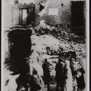 """Zdjęcie pt. """"Ruiny na Pańskiej"""""""