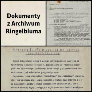 Dokumenty z Archiwum Ringelbluma