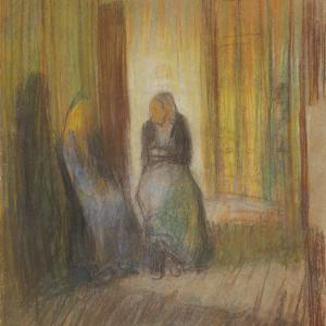 Staruszki w korytarzu