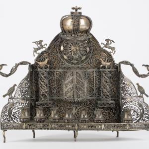 Lampa chanukowa (hebr. chanukija)